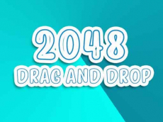 2048 Drag and Drop