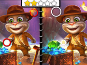 Talking Tom Five Differences