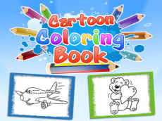 Cartoon Coloring Book Game