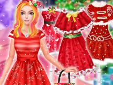 Christmas Princess Dress Up