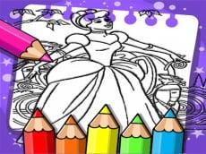 Cinderella Color Book