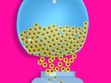 Color Balls Fill 3d - Bucket Fill Challenge