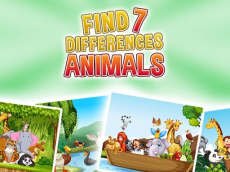 Find 7 Differences - Animals