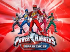 Find the Differences - Power Rangers Spot Game