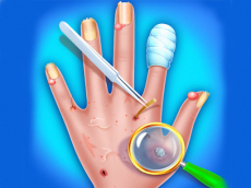 Hand Skin Doctor - Hospital Game