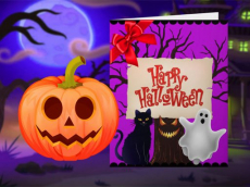 Happy Halloween - Princess Card Designer
