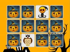 Kids Memory Game: Halloween