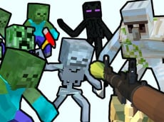 Minecraft Shooter - Save Your World