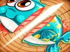 Ninja Fishing - Cut the fish