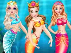 Princess Mermaid Style Dress Up