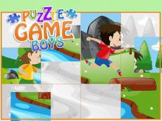 Puzzle Game Boys - Cartoon