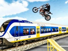 Ramp Bike Stunt