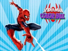 Spiderman Color Fall - Pill Pull Game