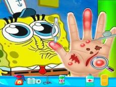 Spongebob Hand Doctor Game Online - Hospital Surge
