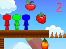Stickman Bros In Fruit Island 2