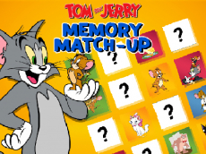 Tom and Jerry Memory Match Up