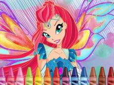 Winx Coloring